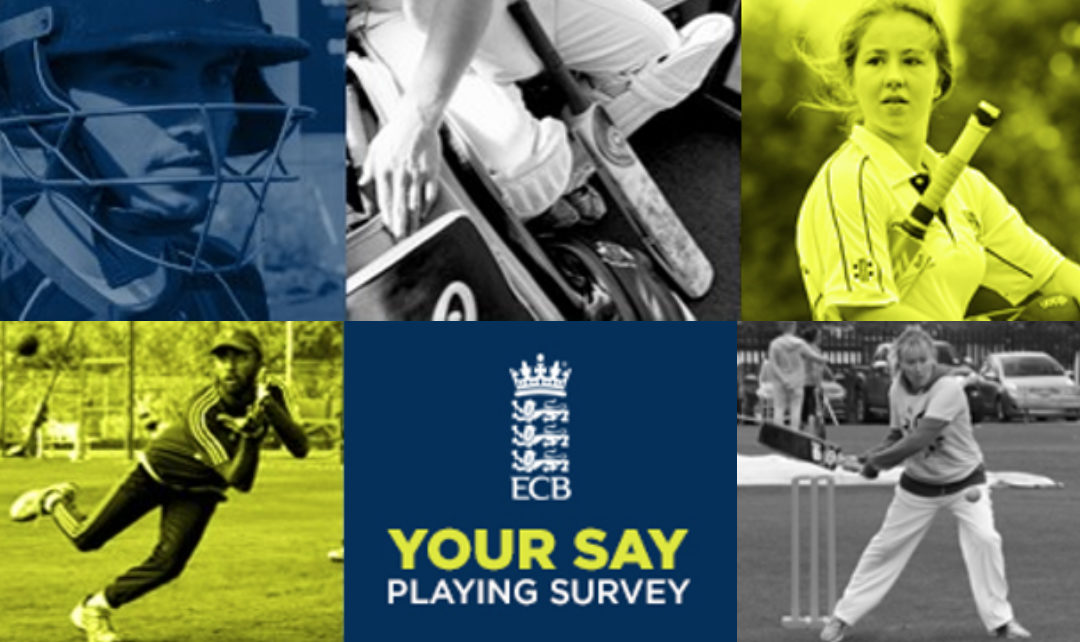 The 2020 Cricket Playing Survey is now live