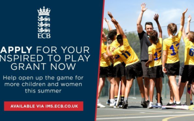 """Calling all HEBL clubs… apply for your """"ECB Inspired to Play Grant"""" today!"""